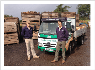 delamere logs photo of starkey brothers
