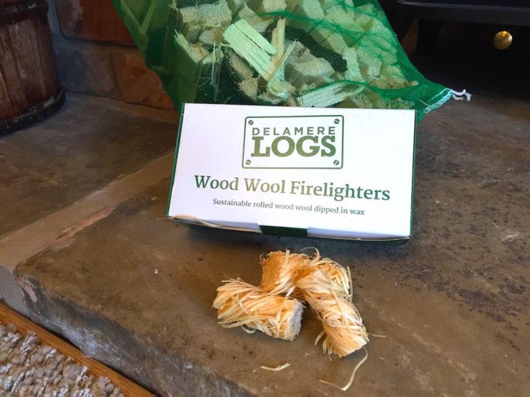 delamere logs firelighters