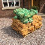 40 nets of hardwood logs + 10 nets of kindling